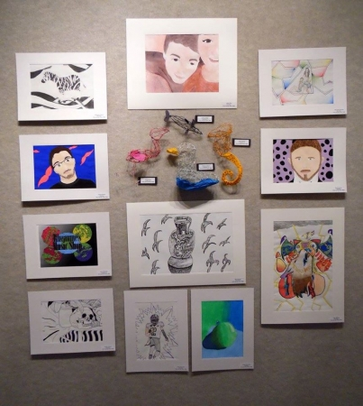 Youth Arts Month Exhibits 2016