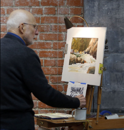 Skip Larcom: Watercolorist